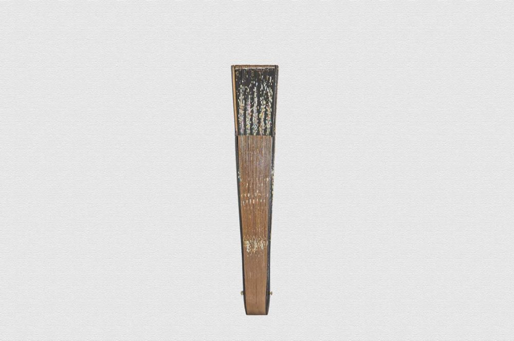Abanico lacado negro - Abanicos Vibenca
