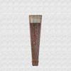 Abanico de madera bubinga marfil Vibenca
