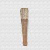 Abanico madera marfil