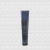 Danta wood fan varnished in navy blue